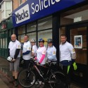 Middlesbrough Solicitors Complete 40-mile Charity Bike Ride
